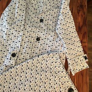 Bandolino matching cotton Coat and Skirt
